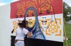 Electric Picnic's street art a nod to struggles of Egypt's women
