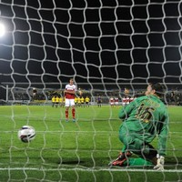 Bryan Ruiz and the luckiest penalty you'll see today