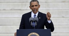 """Obama: Because of MLK """"Congress changed, and eventually the White House changed"""""""