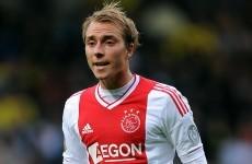 Christian Eriksen set for Tottenham switch