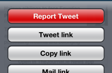 Twitter introduces new 'report tweet' button