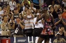 Retirement on the horizon as Venus exits US Open