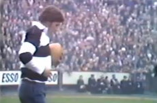 The commentator of the greatest rugby try of all time has passed away