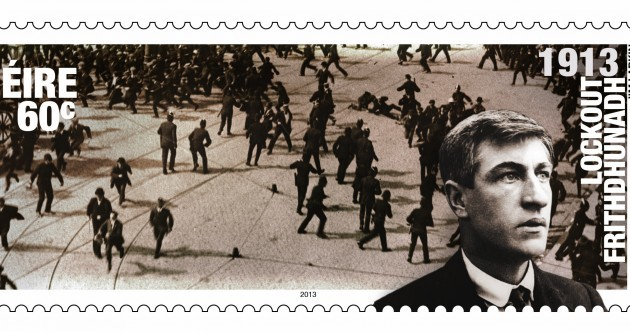 An Post launch three stamps to mark 1913 Lockout centenary