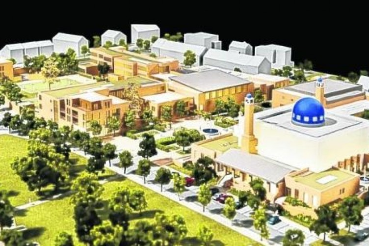Mosque development costing in the region of €40 million.