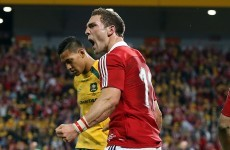 Lions star George North gets Saints start against Leinster