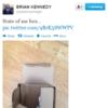 Tweet Sweeper:  Brian Kennedy shows us his box