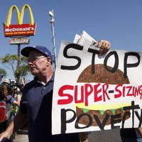 US fast-food workers stage protests across 60 cities