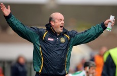 Ollie Baker steps down as Offaly hurling boss