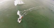 Surfing GAA fan backs the Mayo4Sam campaign