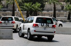 UN chemical weapons inspectors leave Syria