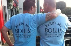 'Kerry me bollix' -- check out the T-shirts some Dublin fans will be wearing at Croker tomorrow