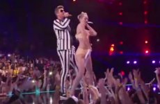 Miley Cyrus' infamous VMA performance - with added UFC commentary