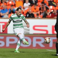 Cracking Anthony Stokes free kick delivers late win for Celtic