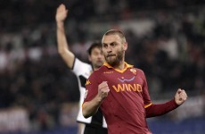 Man United target De Rossi set for Roma stay