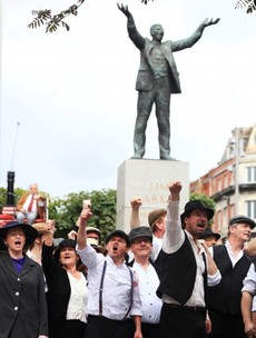 28 pictures from today's 1913 Lockout commemoration celebrations
