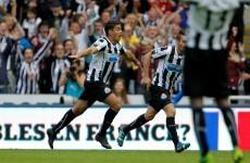 Hatem Ben Arfa's winner for Newcastle today was a corker