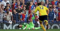 John O'Shea sent off as Palace overcome Sunderland