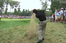 Phil Mickelson pulls off amazing flop shot to save par