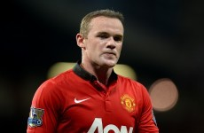Wayne Rooney ruled out of Liverpool-United clash