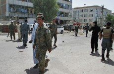 Taliban suicide bomb leads to three-hour shootout