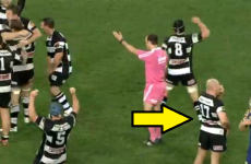 Gutted Kiwi prop the last man on the pitch to realise his team won