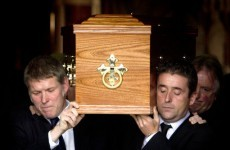In pictures: The funeral of Seamus Heaney