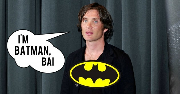 Cillian Murphy was nearly a Cork Batman... it's The Dredge