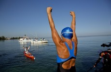 'Never ever give up': 64-year-old Nyad completes Cuba to Florida swim