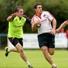 Keatley is Munster's first choice 10, but 'JJ will have the blowtorch on him'