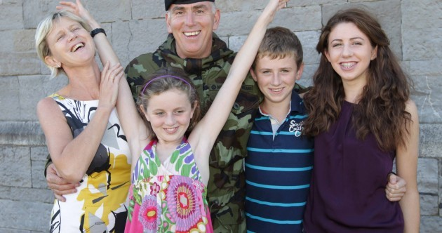 Pictures: Irish troops on parade in Rathmines sunshine ahead of Syria mission