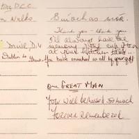 Photos: Hundreds sign book of condolences for Seamus Heaney in Dublin