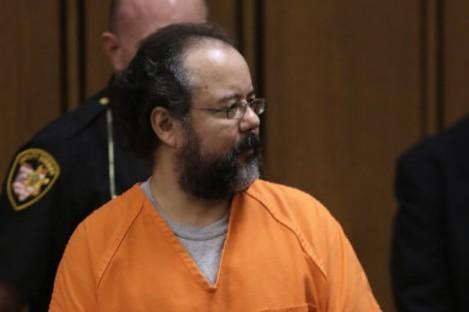 Ariel Castro being taken to prison last month.