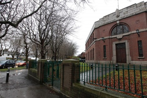 Whitehall Garda Station, just one of the garda stations which is now closed down due to cuts in public finances.