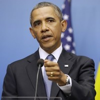 'The world set a red line on Syria, not me' - Obama