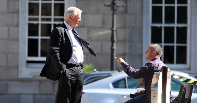 Caption competition: What are Peter Mathews and RBB talking about?