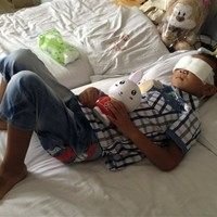 Late aunt of Chinese boy who had eyes gouged out named as suspect