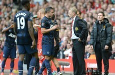 'No rift' as Van Persie praises Moyes' methods