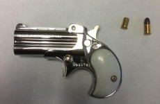 Here's the gun a criminal smuggled into jail in his bum
