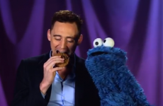 WATCH: Cookie Monster learns about self control from Tom Hiddleston