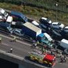 Dozens hurt after over 100 vehicles crash in morning fog in Kent