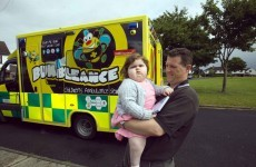 BUMBLEance: The ambulance specially made for critically-ill kids
