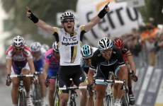 Goss sprints to victory in Milan-San Remo