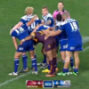 There's something not quite right about this scrum