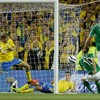 Here's the goal that put Ireland into the lead against Sweden