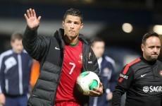 Northern Ireland fans taunt Ronaldo with 'cheap Gareth Bale' chants