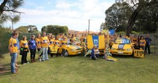 The Perth section of the Clare supporters club is out in force this weekend