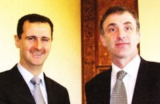 'It's not a new photo': Sinn Féin on picture of Chris Andrews with Bashar al-Assad