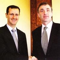 'It's not a new photo': Sinn Féin on picture of Chris Andrews with Bashar al-Assad