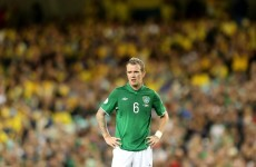 Whelan ruled out of Austria game as Stephen Quinn gets call-up